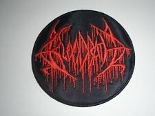 BLOODBATH  BRUTAL DEATH METAL EMBROIDERED PATCH