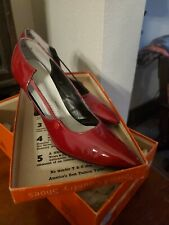 Vintage Town And Country Jubilee Sweet Talk Patent Leather Pumps