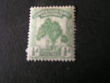 *GILBERT & ELLICE iS. SCOTT # 8, 1/2p. VALUE 1911 PANDANUS TREE ISSUE MH