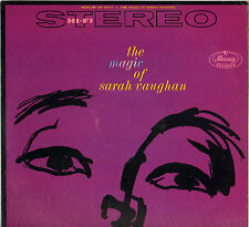 "SARAH VAUGHAN ""THE MAGIC OF"" POP VOCAL JAZZ 50'S LP MERCURY SR 60110"
