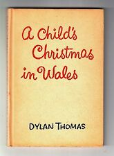 A CHILD'S CHRISTMAS IN WALES (Dylan Thomas/1st single edition US)