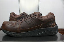 New Balance 928 shoes right 8.5 left 11 different sizes leather brown