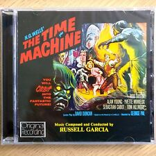 NEW SEALED - H.G. WELLS - THE TIME MACHINE - Original Soundtrack Music CD Album