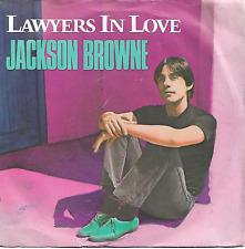 JACKSON BROWNE - LAWYERS IN LOVE / SAY IT ISN'T TRUE - 80s FOLK ROCK VOCAL POP