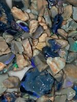 Australian small cutters Bright colours Rough Opal Parcels 50cts SEE VIDEO