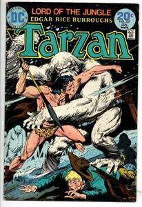 TARZAN of the APES #227 228 229 VG/FN Edgar Rice Burroughs  Joe Kubert 1972 1973
