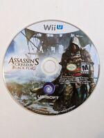 Assassin's Creed IV 4 Black Flag (Nintendo Wii U 2013) Disc Only Tested