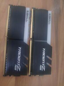 G. SKILL Trident Z RGB 16GB (2 x 8GB) PC4-25600 (DDR4-3200) Memory (F43200C16D1…