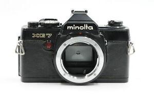 Minolta XG7 Black 35mm Film Camera Body (XG-7) #626