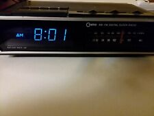 Vintage Cosmo Am Fm Digital Clock Radio Working