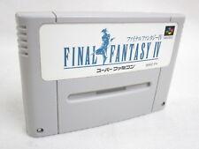 FINAL FANTASY IV 4 Super Famicom Nintendo SNES Free Shipping Hit-Japan sfc