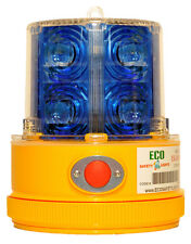 12x P24LM BLUE Beacon Truck Trailer Boat Portable 24 LED's Warning Safety Light