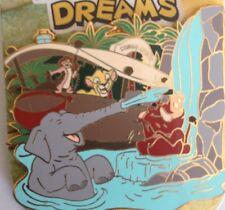 Disney Jungle Cruise Festival Dreams Lion King Simba Timon Pumbaa Pin NEW