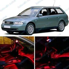 Brilliant Red Interior LED Package For Audi A4/S4 B5 1998-2001 (12 Pieces) #481