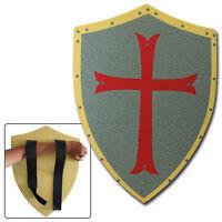 Medieval FOAM Spanish Shield LARP Prop Knights Templar Weapon Cosplay Latex