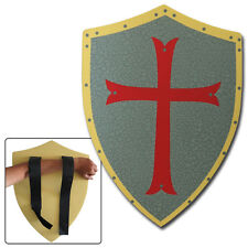 Medieval Knight Crusader Fantasy Protector of Holy Land Foam LARP Battle Shield
