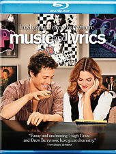 Music and Lyrics (Blu-ray Disc, 2007) Bluray Viewed Once -English & French -MINT