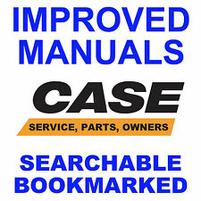 9 SERVICE MANUALS CASE 580B 580CK B TRACTORS TLB Owners PARTS SEARCHABLE CD