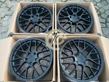 "PORSCHE CAYENNE 20"" TURBO RS SPYDER S HYBRID GTS ALLOY WHEELS SATIN BLACK 5x130"
