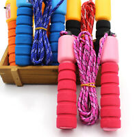 Skipping Rope with Counter Jump Exercise Boxing Gym Fitness Workout Adult Kid