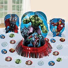 Marvel avengers super héros grande fête d'anniversaire 3 pièces décoration de table kit