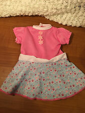 """Doll CLothes Casual Party Dress Pink White Fits 15"""" 16"""" Baby Alive Girl Doll"""
