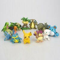 13pcs Pokemon GO High Quality Pikachu Mini Figures Set Cake Toppers & Party Toys