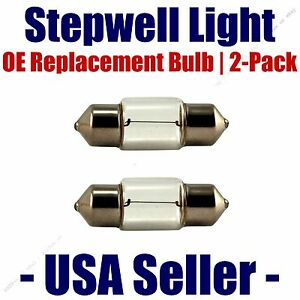 Stepwell Bulb 2pk OE Replacement Fits - Listed Mercedes-Benz Vehicles - 6411