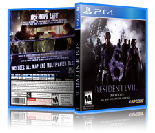Resident Evil 6 - ReplacementPS4 Cover and Case. NO GAME!!