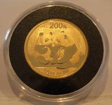 Cina 2009 Oro 14.8ml Panda 200 Yuan Bu