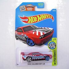 RED Dodge Charger Drift Car. HW Speed Graphics 3/10. DHR74. New in Blister Pack!