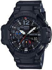 G-Shock Analog-Digital Gravity master Black Resin Strap Men' s Watch GA1100-1A1