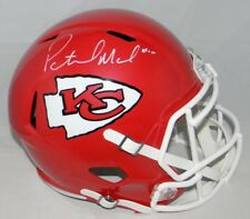 PATRICK MAHOMES AUTOGRAPHED KANSAS CITY CHIEFS FULL SIZE SPEED HELMET BECKETT