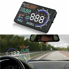 "5.5"" inch A8 Car HUD Head Up Display KM/h & MPH Speeding Warning OBD2 II System"