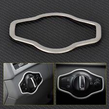 Chrome Headlight Switch Frame Cover Trim For Audi A4 S4 B8 Q5 A5 S5 2008-15
