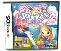 Squinkies 2 - Nintendo DS Used Tested Works Game Case Manual