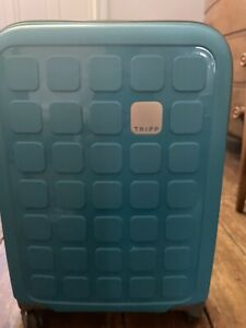 Tripp Turquoise Blue Cabin Carry On Suitcase