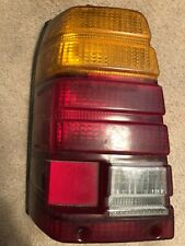 1980 1984 Subaru DL GL Wagon LH Tail Light Lens Housing OEM Drivers Brake 1557