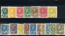 Canada 1911-31 Scott 104-11 Canceled