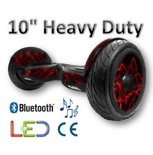 hoverboard XSKATE Elektroroller 10″ Bluetooth – Blitz Rossi- LED