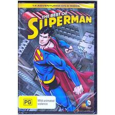 DVD BEST OF SUPERMAN, THE TV Animated Superhero 14-Episodes 2-Discs PG R4 [BNS]