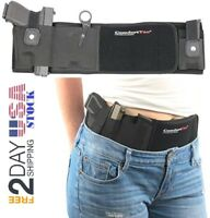 ComfortTac Ultimate Belly Band Holster for Concealed Carry Black Right, New