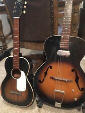 Vintage Harmony Stella H929 1940-60s Acoustic Guitar for Parts or Art Antique