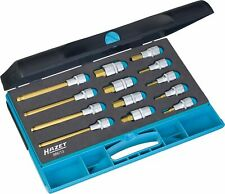 HAZET Screwdriver socket set 986/13 Square, hollow 12.5 mm (1/2 inch) Inside