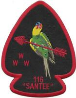 OA 116 Santee Lodge J6 A1 Jacket Patch 2015 Issue [PD160]