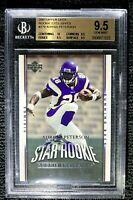 2007 Upper Deck Rookie Exclusive Adrian Peterson Graded BGS 10-9.5-9.5-9.5