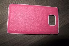 2 St.Deckel Samsung Smartphone Galaxy S2 i9100 Akkudeckel cover Pink Rosa Handy