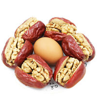 Big Red Date with Walnut Jujube Chinese Food Snacks中国休闲零食特产小吃 宝珠山大红枣夹四瓣核桃仁500g