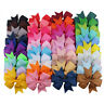 40 Colors Baby Girls Hair Bows Kids Hair Bands Alligator Hair Clips Boutique Lot