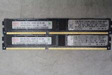 Hynix 8GB 2x4GB PC3L-10600 DDR3-1333 ECC Server Memory RAM HMT351V7BFR4A-H9